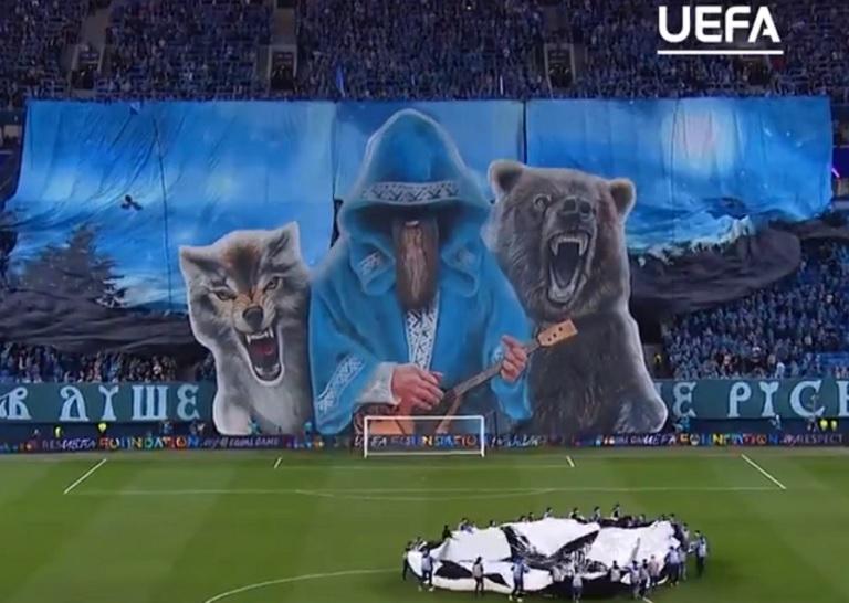 Luchshij Banner Goda Tvorenie Fanatov Zenita Pered Matchem S Lejpcigom Tak Schitaet Uefa