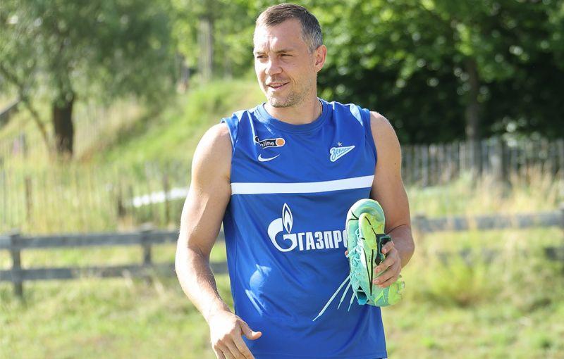 «Газпром» — тренировочные сборы в Австрии: Дзюба присоединился к команде