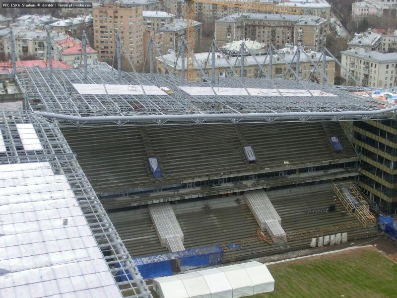 умеете рисовать, фото стадион цска декабрь так выглядит основа